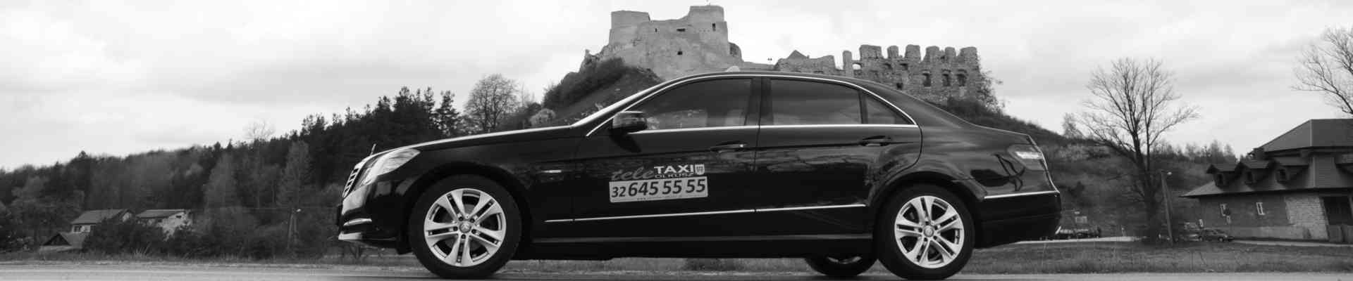 BUSINESS TAXI Olkusz Mercedes W212 BANER