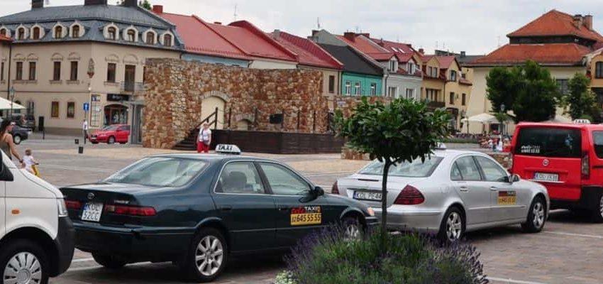 tele TAXI Olkusz 32 645 55 55 Rynek 2016